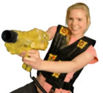 laser tag shooter