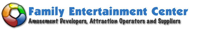 family entertainment centers and indoor party center logo