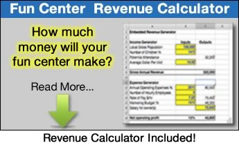 how to start a family entertainment center - revenue calculator